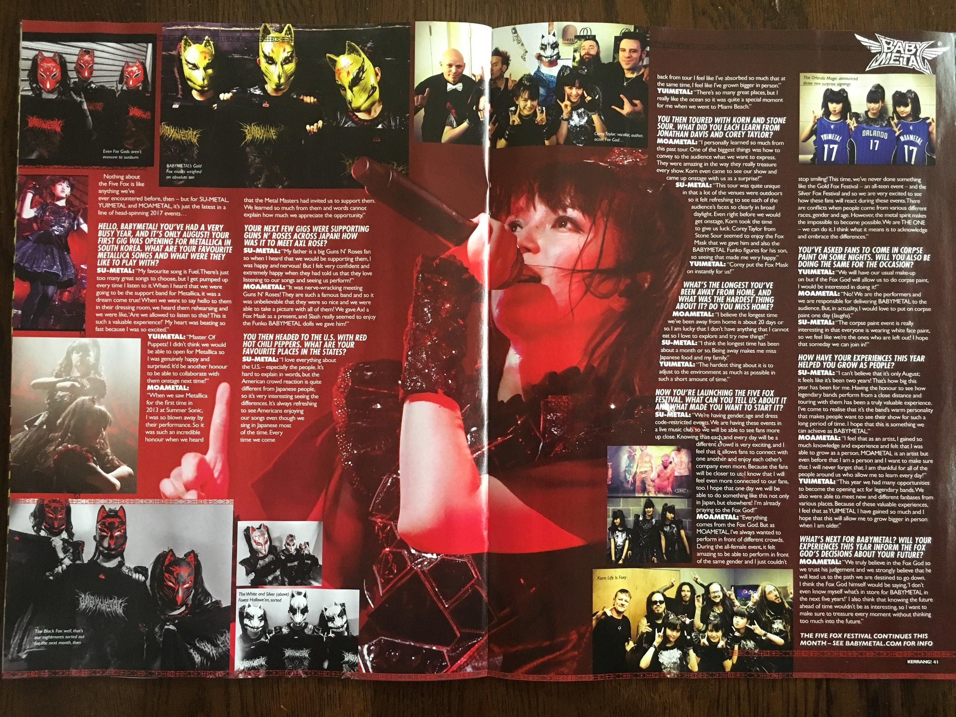 『Kerrang!』ロングインタビュー