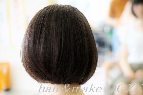 ヘアドネーション~髪の毛の寄付、その後のお客様。