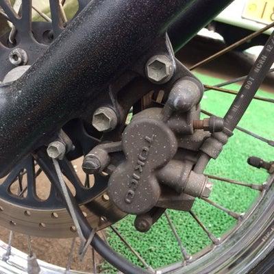 グラストラッカーのフロントブレーキパッド、リアブレーキシュー交換の巻の記事に添付されている画像