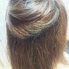 実は強いくせ毛のスタッフの毛質改善プラチナ縮毛矯正♪の画像