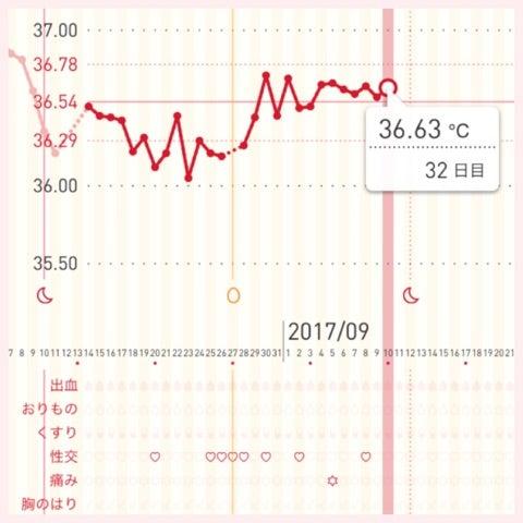 高温期12日目 陰性 チェックワンファスト