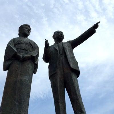 岐阜羽島駅の銅像の人の記事に添付されている画像