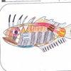 【たくみ大図鑑141】289 ベニマトウダイ、290 ポタモトリゴンヒストリクスの画像