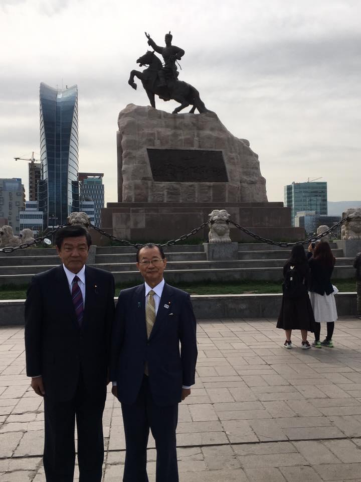 衆議院 日本・モンゴル友好議員連盟 モンゴル視察