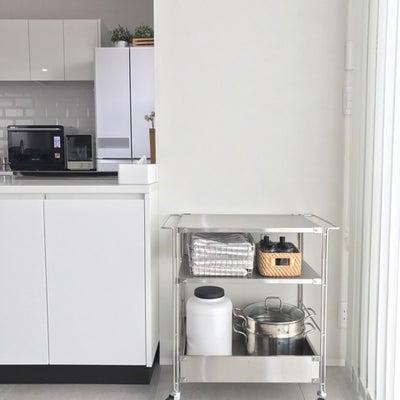 無印良品のキッチンワゴンで便利な暮らしの記事に添付されている画像