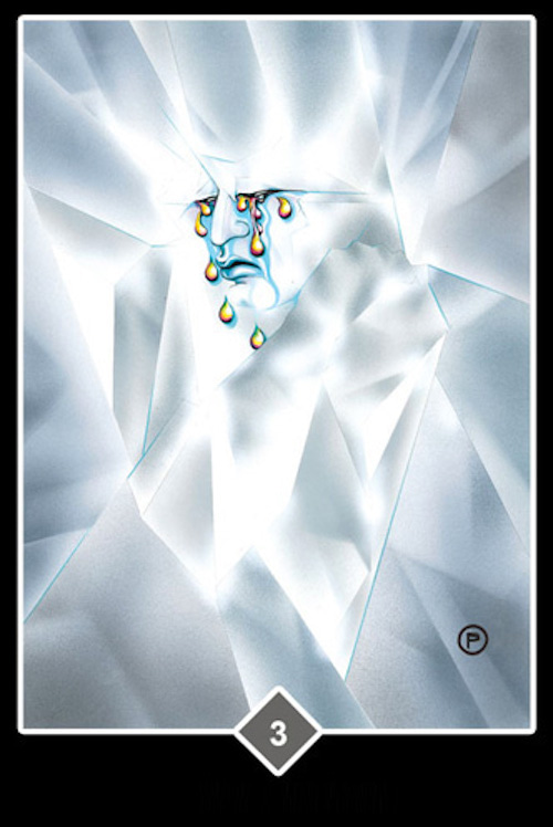 OSHO禅タロット雲3ICE-OLATIONアイスオレーション