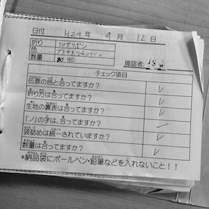 ナフキン折り ~EPISODE 3~の画像