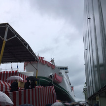 新造船進水式 動画