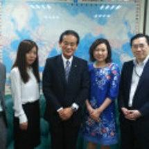 台湾の外交部へ!
