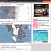 【海外の英文記事】海外旅行前に要チェック!~天気予報サイト、ハリケーン情報の画像
