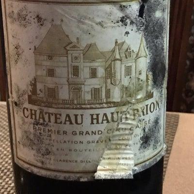 Chateau HAUT BRION 1961(シャトー・オー・ブリオン1961の記事に添付されている画像
