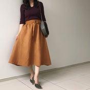 しまむらコーデ♡sweetコラボのスカートで大人な秋コーデ♡