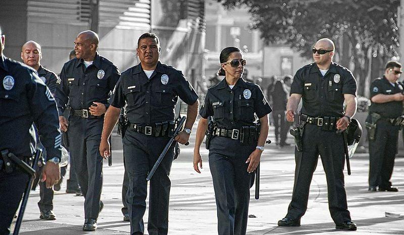 ロサンゼルスの警察は忙しい (1)...