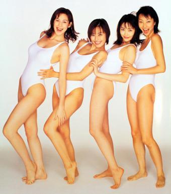 海津晶子さんの水着