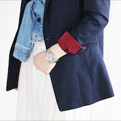 ★人気GUジャケットで縫わないリメイク!