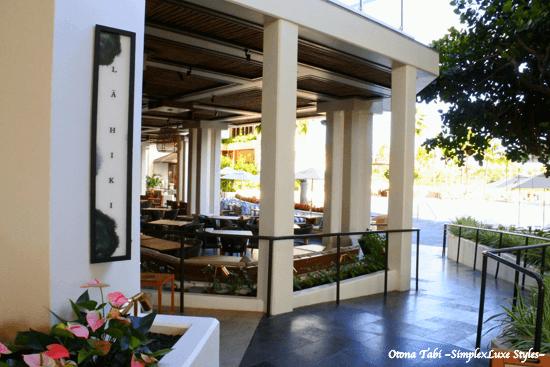 La Hiki Kitchen フォーシーズンズ リゾート オアフ アット