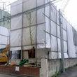 台風と解体工事