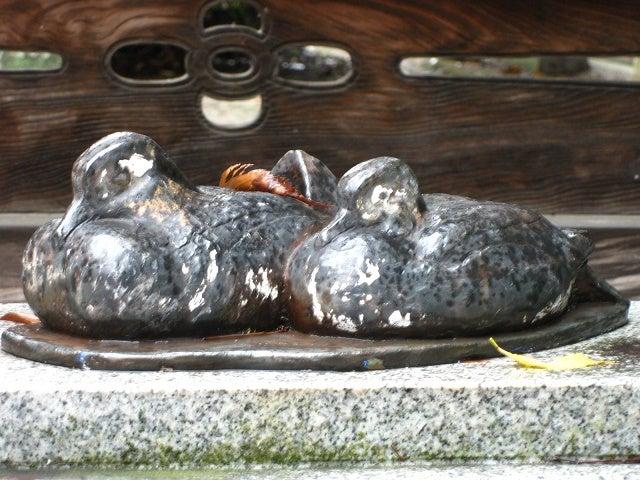 お多福豆のブログ-御朱印巡りと花の旅-下新川神社の御朱印