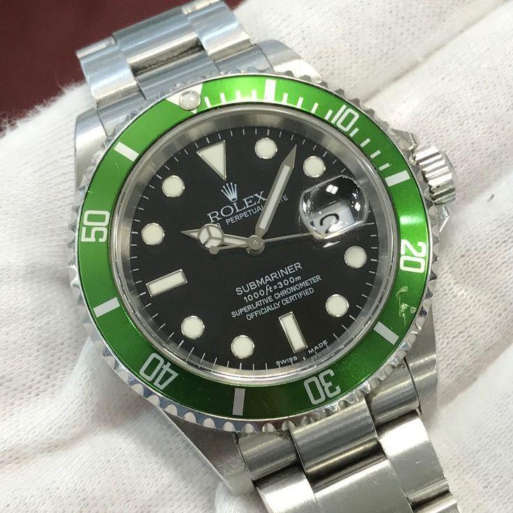 wholesale dealer 2cef7 a848c COMING SOON】ロレックス 旧型緑サブマリーナ 16610LV マークI ...
