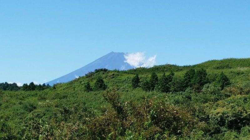 02 富士山ちらり