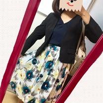 コーデ+ぽっちゃり女子のための花柄スカートについて!の記事に添付されている画像