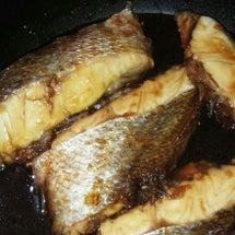 フライパンで煮魚
