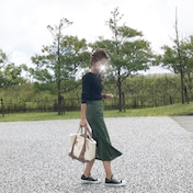 秋冬に取り入れたいベロアスカート / 楽ちんワンピコーデ