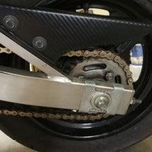 【バイク】パッド交換…
