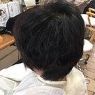 毛流を整える骨格修正カットの記事より