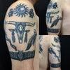 刺青★ネイティヴデザイン(腕)B&G!の画像