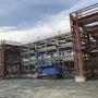 新工場 上棟式