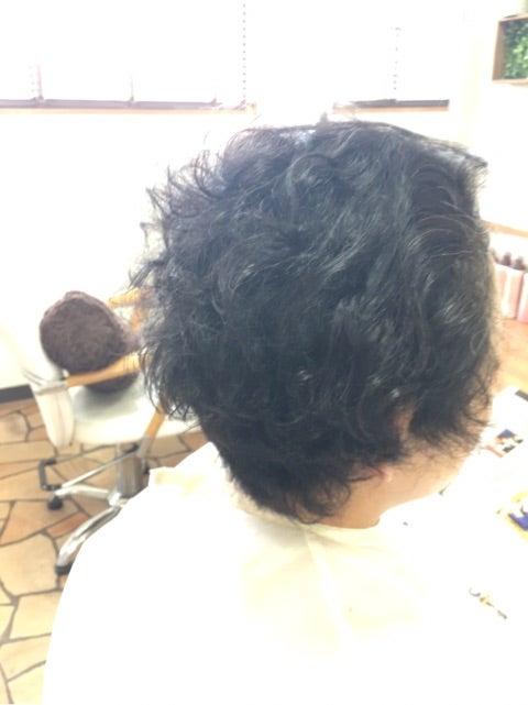 毛流を整える骨格修正カットのパーマデザイン