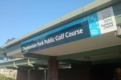 チャンバーレインパーク ゴルフ場