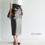 ★大人体型に嬉しいトレンド?!スカート丈に注目^^