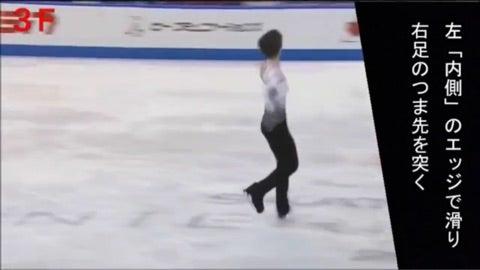 フィギュアスケートのお勉強 3講義目 ジャンプの見分け フリップ