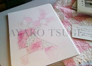 11月30日(木) キャッツタンを使って布や紙を描く
