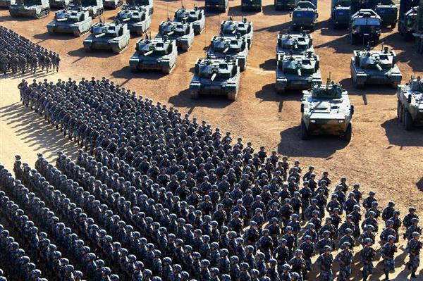兵力体系転換の初歩は完成か 人...