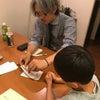 今日は飯島先生のご指導です。の画像