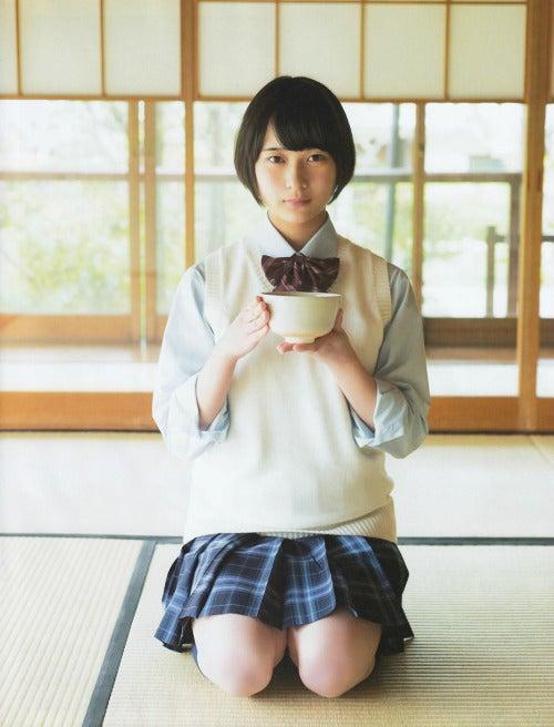 鈴木絢音の茶道画像