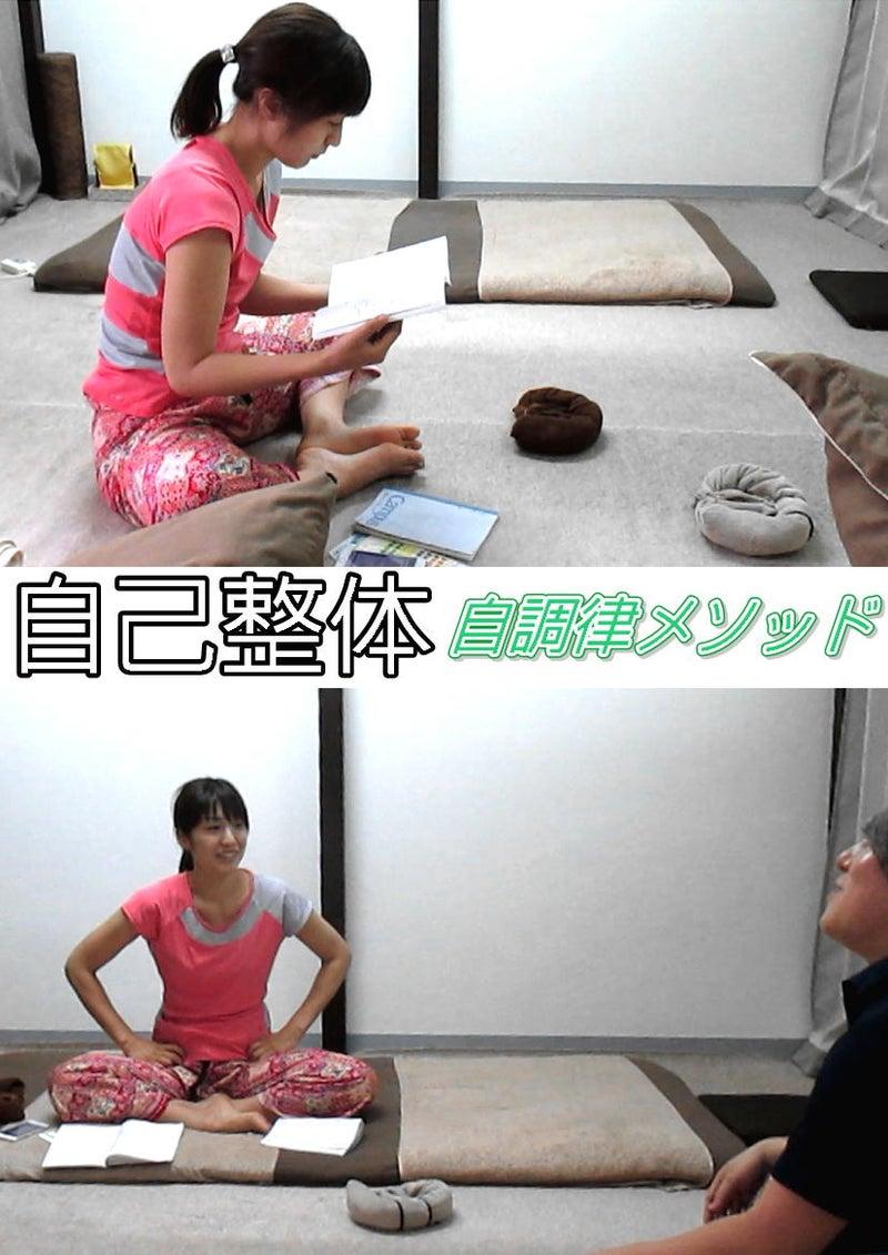 【自己整体モニター】自調律メソッドを初体験!1