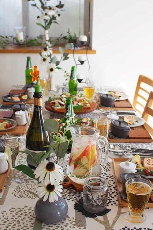 ヘルシーなおもてなし料理教室「 a table (ア ターブル) 」 北欧料理でヒュッゲなおもてなし♪ ご参加ありがとうございました