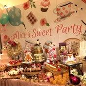 『アリスのクリスマスパーティー』2017年11月・12月 デザートビュッフェ