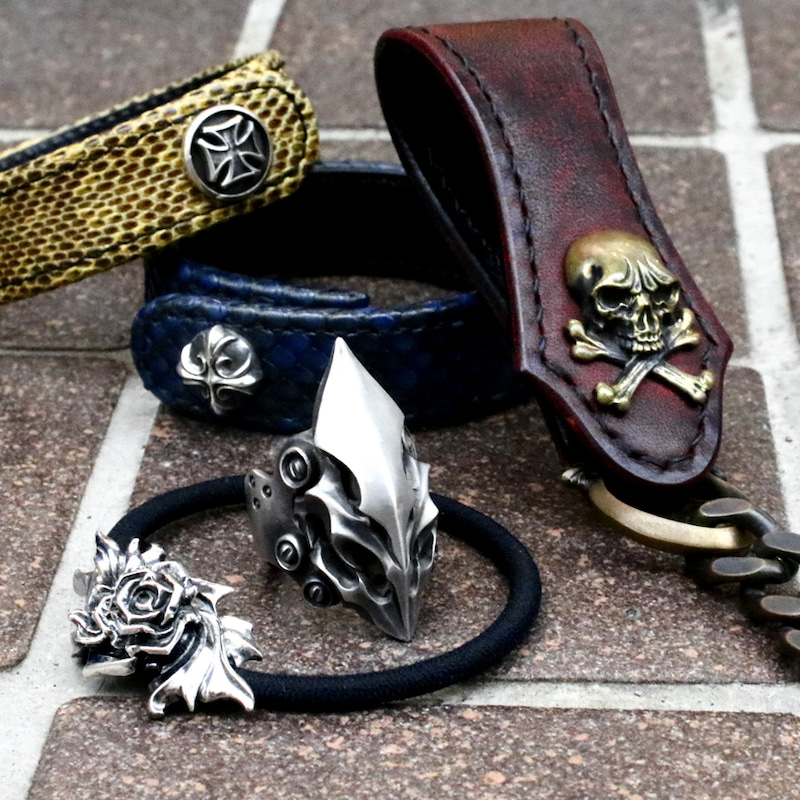 GLAM SCALE グラムスケイル snake pit leather works スネークピットレザーワークス 日山 石塚