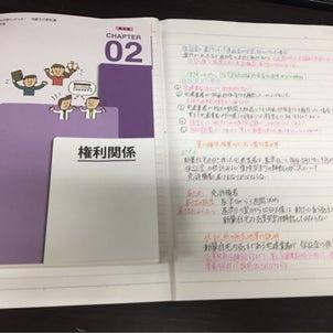 宅建士試験勉強の画像