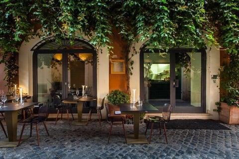 ローマ街中のミシュラン星付きレストランで優雅ランチ Tsugumi S Monologue「ローマより徒然なるままに」