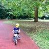 はじめての自転車(補助輪付き)の画像