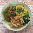 ブルガー小麦と豆腐カ…