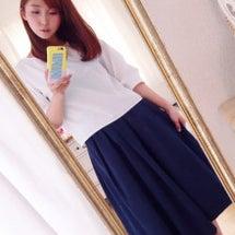 秋スカート♡