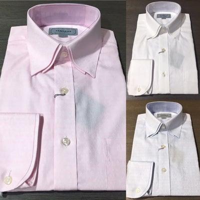 ティノラス 新作【ダブルカラーシャツ】の記事に添付されている画像