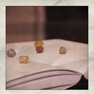 ダイヤモンドの原石を出品します。の画像